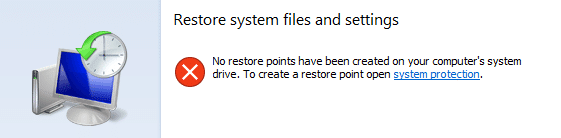 reduce disk space for system restore