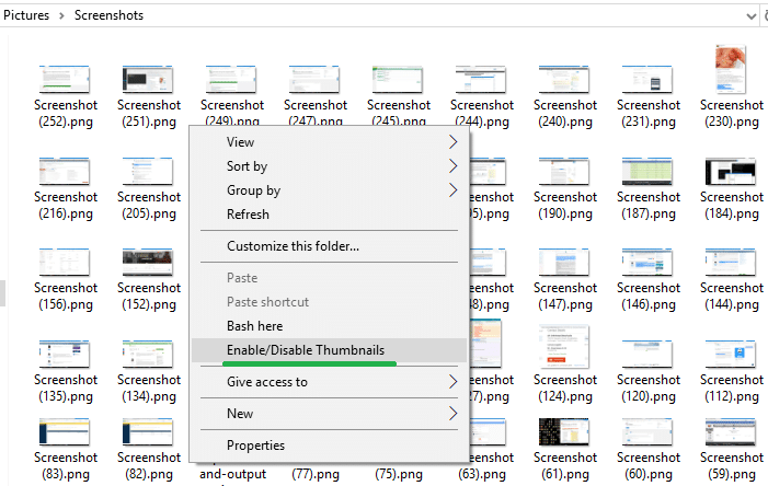 Thumbnails Previews Not Showing up in File Explorer