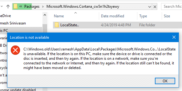 how to delete windows.old folder