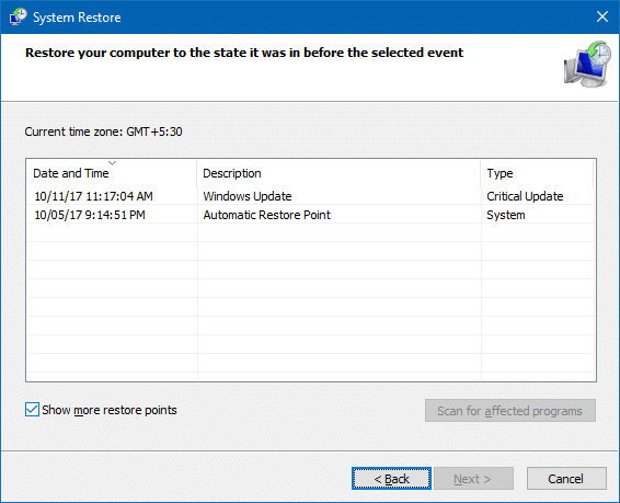 How to Delete Individual System Restore Points in Windows
