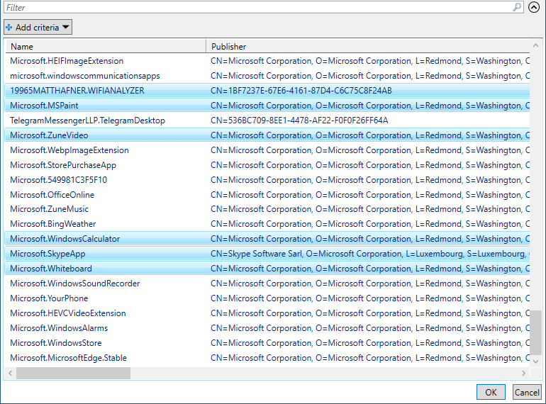 reset apps powershell reset-appxpackage