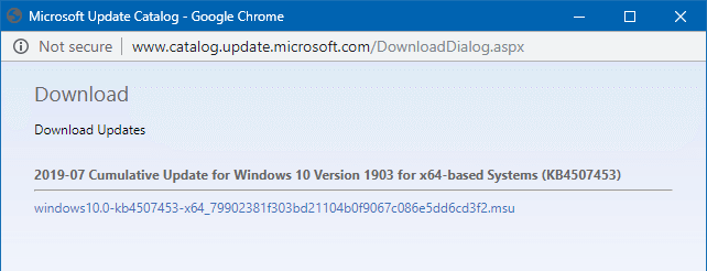 download updates from microsoft update catalog