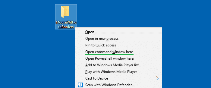 Get Back  U0026quot Open Command Window Here U0026quot  Context Menu Option In