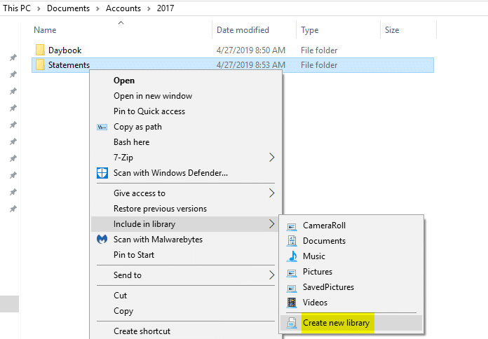 how to rename pinned quick access folders in windows 10