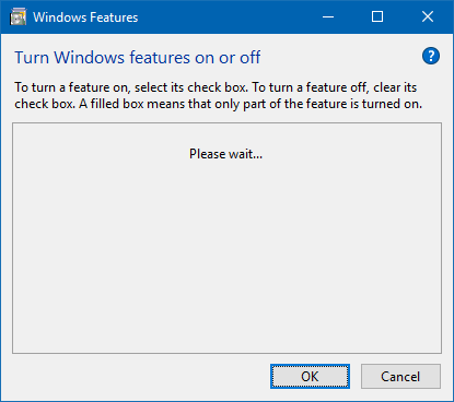 Fix] Turn Windows Features On Or Off is Empty in Windows 10