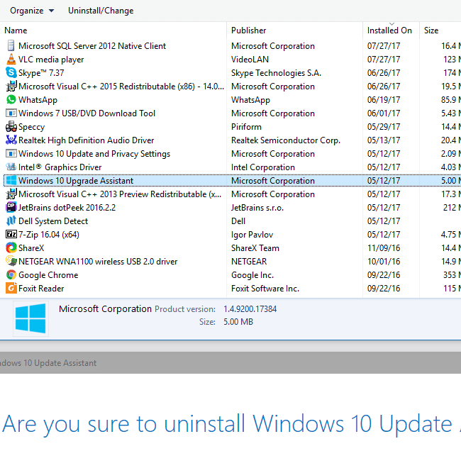 what is windows10upgrade folder and can i remove it