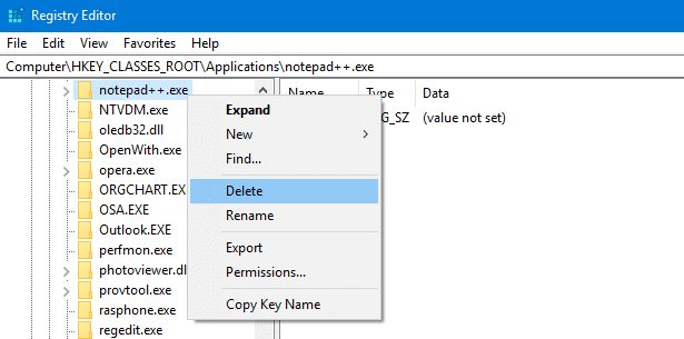 cannot add program to open with menu in windows
