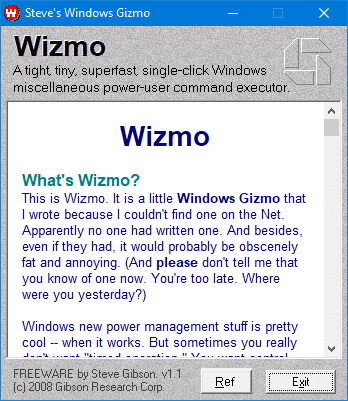 wizmo from grc
