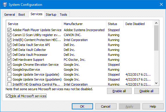File Explorer does not Highlight Files