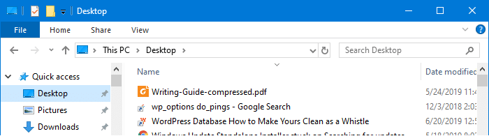 show full path in address bar for special folders windows 10
