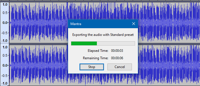 convert mp4 to mp3 offline - extract audio from video - audacity