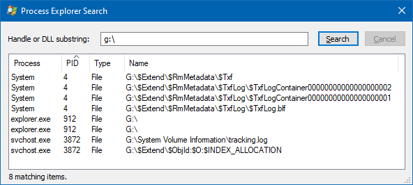 problem ejecting usb device